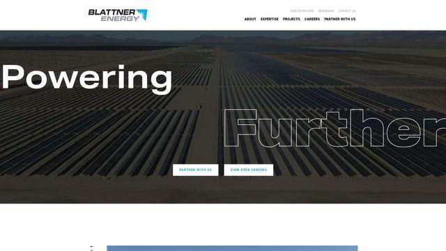 Blattner Energy, Inc.