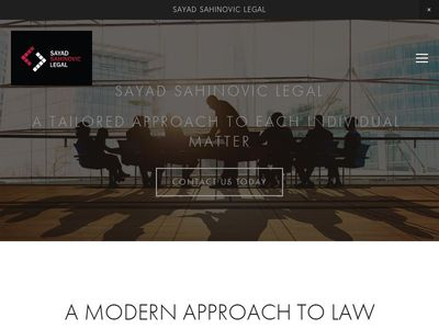 Sayad Sahinovic Legal Pty Ltd
