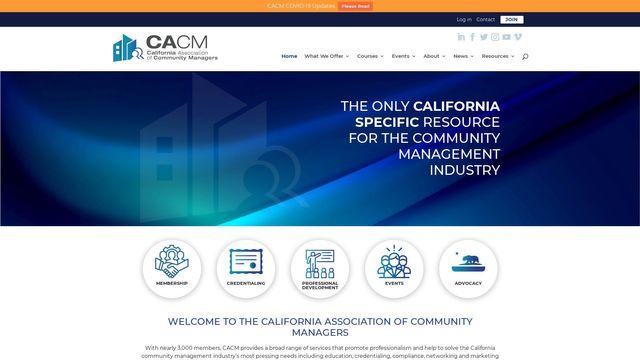 California Association of Community Managers, Inc.
