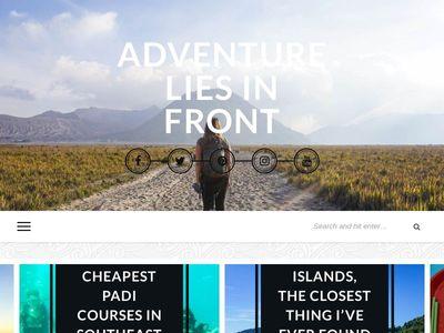 Adventure Lies in Front