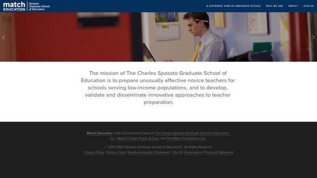 The Charles Sposato Graduate School of Education, Inc.