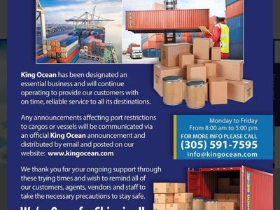 King Ocean Services Limited.