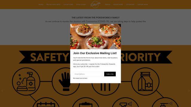 Pokéworks — Poke Bowl Restaurant