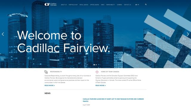 Cadillac Fairview Corporation Limited.