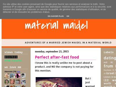 material maidel