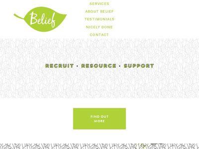 Belief Resourcing