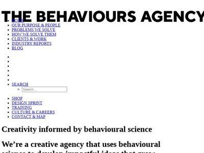 The Behaviours Agency Ltd.
