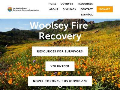 Los Angeles Region Community Recovery Organization