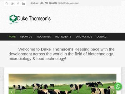 Duke Thomson's