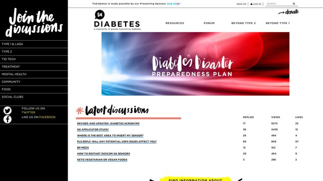TuDiabetes Forum