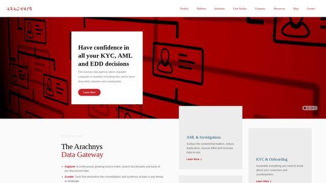 Arachnys Information Services Ltd