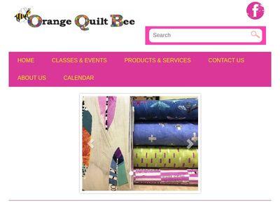 Orange Quilt Bee