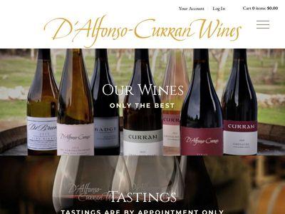 D'Alfonso-Curran Wines