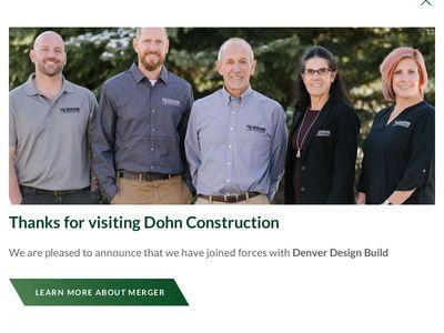 Dohn Construction, Inc.