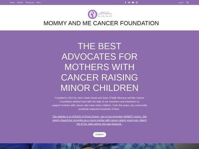 MOMMY AND ME CANCER FOUNDATION