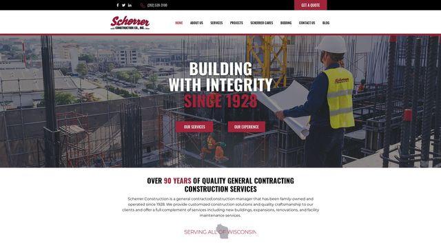 Scherrer Construction Company, Inc.