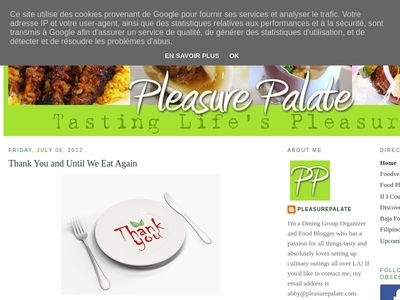 Pleasure Palate: Pitfire Pizza Company