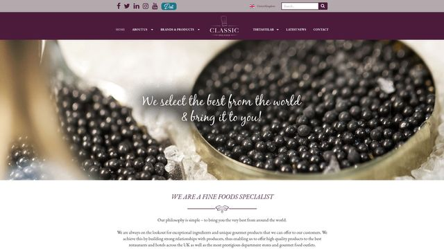 Classic Fine Foods UK Ltd