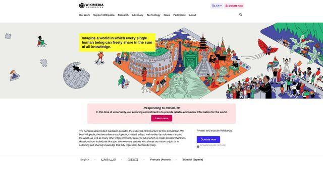 Wikimedia Foundation, Inc