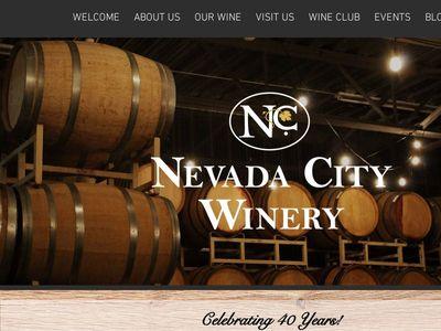Nevada City Winery