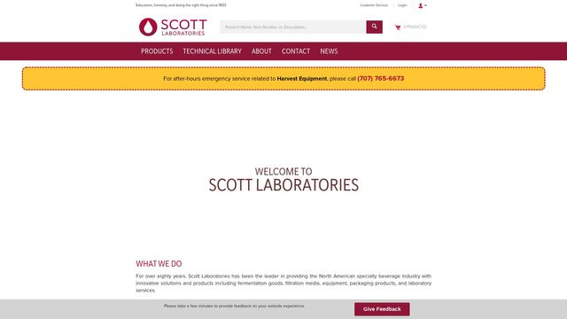 Scott Laboratories, Inc.