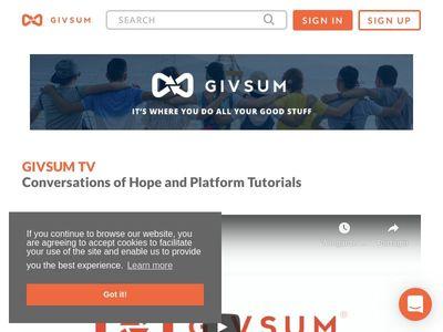 Givsum, Inc.
