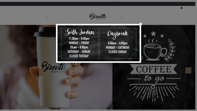 Biscotts Bakery & Cafe