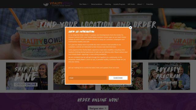VITALITY BOWLS ENTERPRISES, LLC
