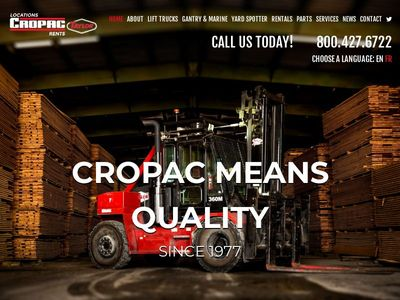 Cropac Forklifts Inc.