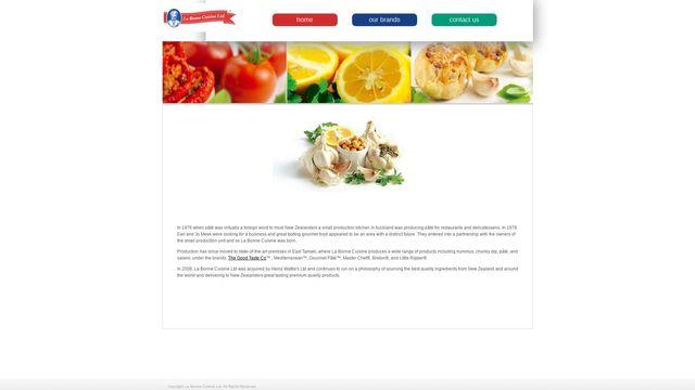 La Bonne Cuisine Ltd.