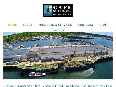 Cape Seafoods, Inc.