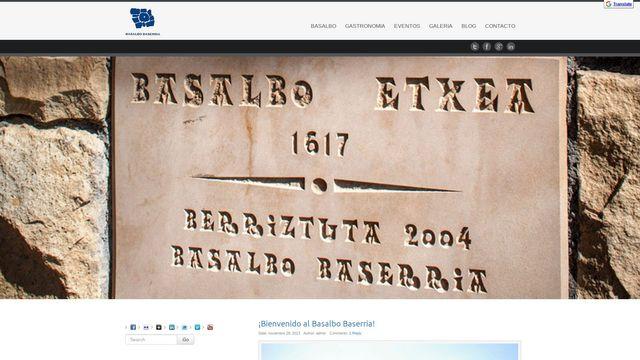 Basalbo Baserria   Jatetxea - Restaurante Andra Mari, Aizkorri, Getxo