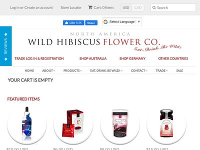Wild Hibiscus Flower Co