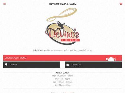DeVino's Pizza & Pasta