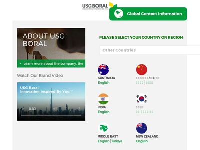 USG Boral Specialty Products Co., Ltd.
