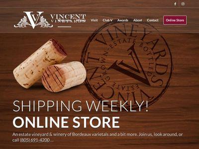 Vincent Vineyards & Winery, LLC.