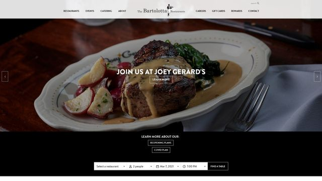 The Bartolotta Restaurant Group and Catering Company