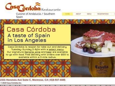 Casa Cordoba Inc.