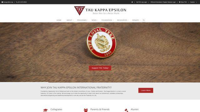 Tau Kappa Epsilon Fraternity, Inc.