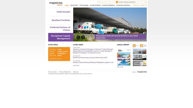 Mapletree Logistics Trust Management Ltd.