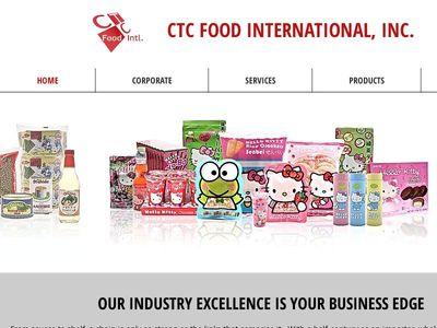 CTC FOOD INTERNATIONAL, INC.