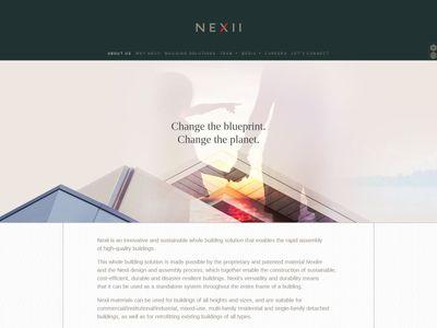 Nexii Building Solutions Inc.