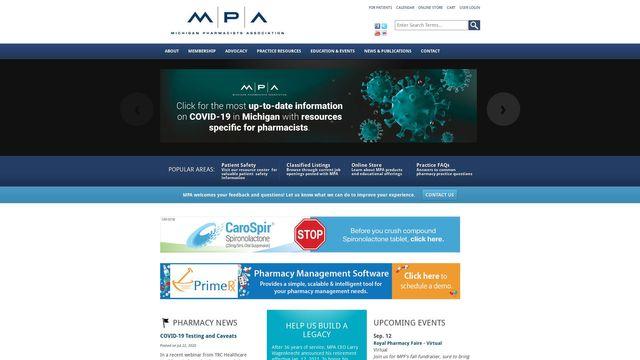 Michigan Pharmacy PAC Pharmacy Services Inc.