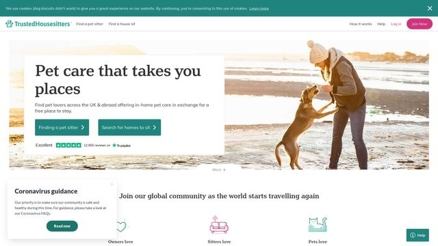 TrustedHousesitters Limited