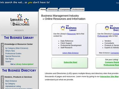 Libraries & Directories, Inc.