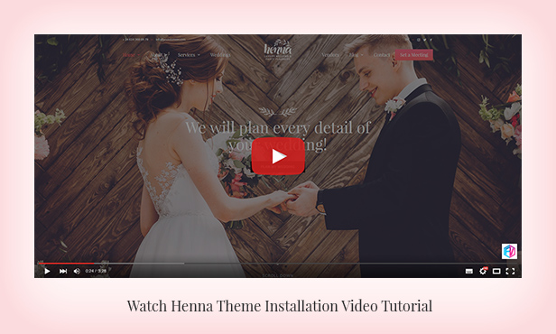 Henna - Wedding WordPress Theme - 2