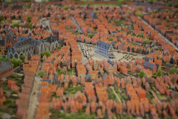 scale model of Gouda (Museum Gouda)