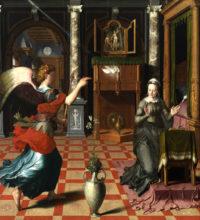 Pieter Pourbus Annunciation 2