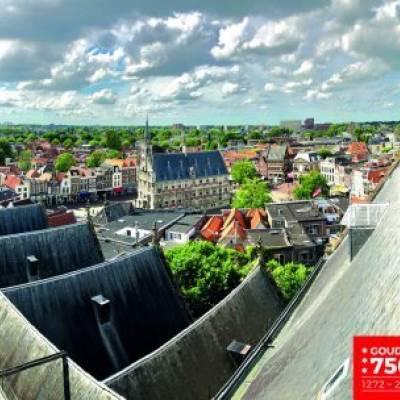 Wandelen op het langste kerkdak van Nederland logo
