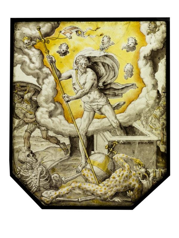 Verrijzende Christus Triomferend Over De Dood De Zonde En Het Kwaad Wouter Crabeth